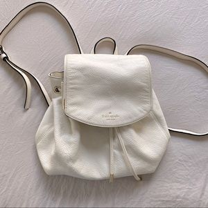 Kate Spade Backpack - off white - used condition